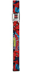 Buckle-Down Kids and Teens Adjustable 1.5 inch (3.8 cm)  Seatbelt Buckle Belt: Spider-Man