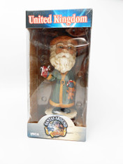 NECA Head Knockers - Santas Around The World Series - United Kingdom, 8 inch (20.3 cm)