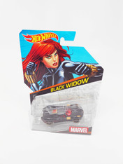 Hot Wheels Marvel Series Collectible Die Cast Vehicle: Black Widow