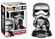 Star Wars The Force Awakens (EP7) Movie Based Pop! Collectible by Funko - Captain Phasma + BONUS!
