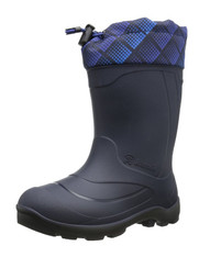 Kamik Footwear Snobuster2 Insulated Boot (Girls, Toddler/Little Kid/Big Kid), Colors:  Navy/Blue
