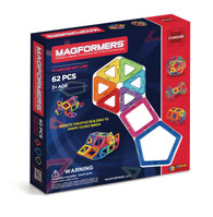 Magformers 62 Piece Rainbow Set