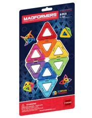 Magformers Triangle 8 Piece Magnetic Set