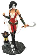 Diamond Select Toys Femme Fatales: Kabuki PVC Statue, 10 inch (25 cm)