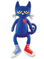 MerryMakers Pete the Cat Plush Doll, 14.5 inch (36.8 cm)
