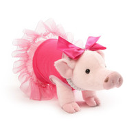 Gund Everyday Signature Prissy Pig Stuffed Animal Plush, 11 inch (27.9cm)
