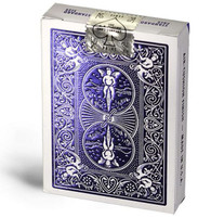 Bicycle MetalLuxe Playing Cards, Rider Back, Cobalt Luxe (Blue)