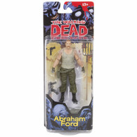 Walking Dead Comic Series 4 Abraham Ford Action Figure, 5 inch (12.7 cm)