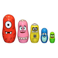 Yo Gabba Gabba Nesting Dolls, set of 5