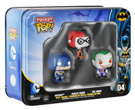 Batman DC Comics Pocket Pop! Mini Vinyl Figure Tin (3-Pack) Funko Collectible