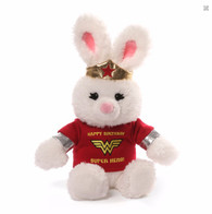 Gund Wonderwoman Happy Birthday Plush, 10 inch (25.4 cm)