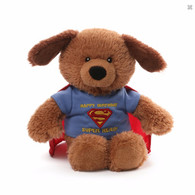 Gund Superman Happy Birthday Plush, 10 inch (25.4 cm)
