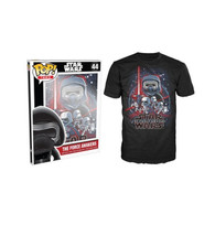 Funko POP! Tee Star Wars The Force Awakens Poster Limited Edition Unisex T-Shirt