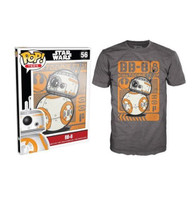 Funko POP! Tee Star Wars The Force Awakens BB-8 Poster Limited Edition Unisex T-Shirt