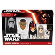 Star Wars The Force Awakens 5 Nesting Doll Set