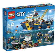 LEGO® City Deep Sea Exploration Vessel 60095 - 717 pcs Building Set