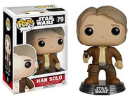 6584 POP Movies: Star Wars: Episode 7 - Han Solo Action Figure, Funko Collectible