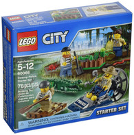 LEGO® City Police Swamp Police Starter Set 60066 - 78 pcs Building Set
