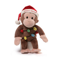 Curious George 2016 Holiday Plush, 12 inch (30.48 cm)
