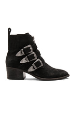 Dolce Vita Scott Booties, Black Suede