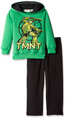 Teenage Mutant Ninja Turtles Big Boys' 2 Piece Fleece Hoodie and Pant Set, Size 7