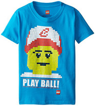 Lego Little Boys' Play Ball T-Shirt, Blue, 5/6