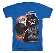Lego Star Wars Blue T-Shirt, Color Blue, Size 8