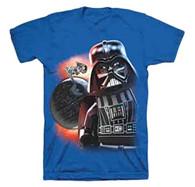Lego Star Wars Blue T-Shirt, Color Blue, Size 8