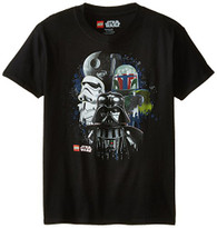 Star Wars Boys' Darth Vader T-Shirt, Vader Black, 8