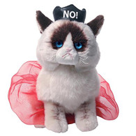 "Grumpy Cat 9"" - Queen of No! Plush"