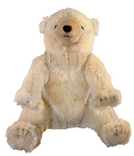 MerryMakers On The Night You Were Born Polar Bear Plush Doll, 10-Inch