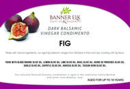 Fig, Dark Balsamic