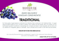 Traditional - Dark Balsamic