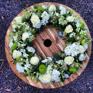 Soft Sympathy Wreath