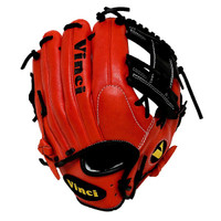 Vinci Pro Limited Series JV21-L Red with Black 11.5 inch Baseball Glove