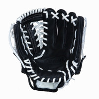 Vinci Pro 22 Series Mesh Back JC3333-22 Baseball Glove Black with White Lace 11.5 inch