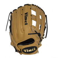 Vinci Pro Limited Series RV1961-L Tan Dual Web Baseball Glove 12.75 Inch