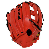 Vinci Pro Limited Series BMB-L Red Baseball Glove 13 inch