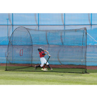 Homerun 12 Foot Mini & Lite Ball Home Batting Cage - New