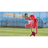 Deuce Pitching Machine & Xtender 36' Batting Cage