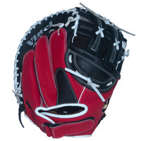 Vinci Fortus Series Fast Pitch Catchers Mitt Red/Black