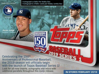 2019 Topps Series 1 Sealed Hobby Case w/ 12 Silver Packs!