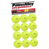 Heater Sports PowerAlley 80 MPH Lite Balls - 12 Pack
