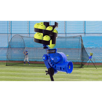 Heater Sports Sandlot 4-In-1 Home Batting Cage and Pitching Machine