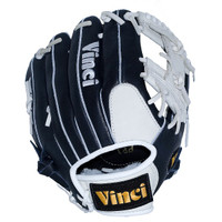 Vinci Pro CP Leather Series JV20 Navy and White 11.5 inch Baseball Glove