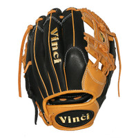 Vinci Pro Limited Series JV21-L Black and Tan 11.5 inch Baseball Glove