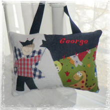 Personalized Boys Tooth Fairy Pillow - dinosaur