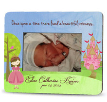 Picture Frame – Personalized new baby / princess