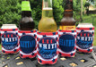 Fourth of July Koozies - Red White and Boozed - set