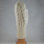 Fancy Trenza Knit Mitten